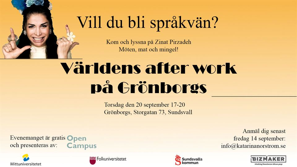 Världens after work open campus